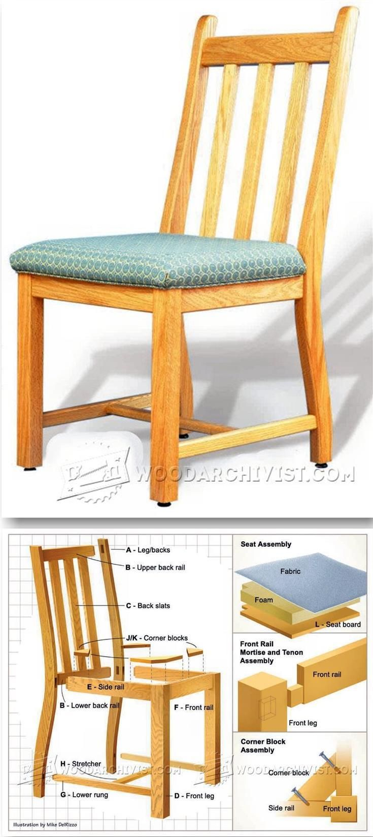 Dining Room Chair Plans - Furniture Plans and Projects ...