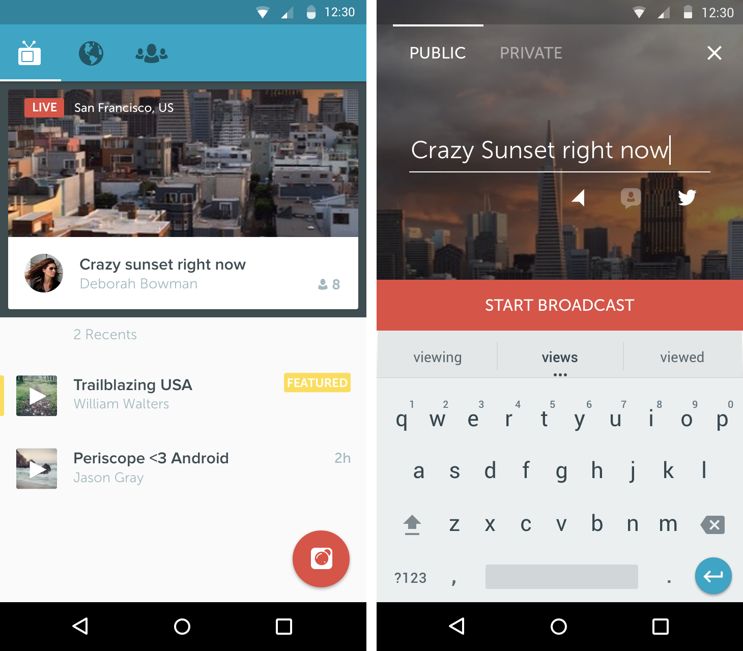 Twitter brings livestreaming app Periscope to Android