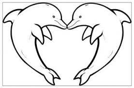 Risultati immagini per delfini immagini da stampare for Disegnare interni
