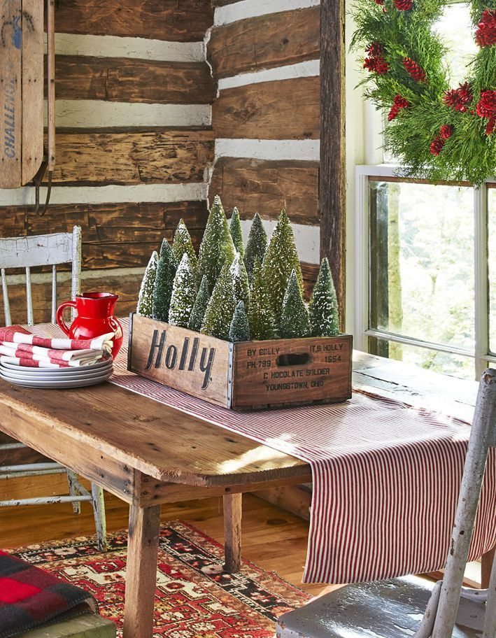 Photo of 17 Beautiful Ways to Decorate With Bottle Brush Trees This Christmas