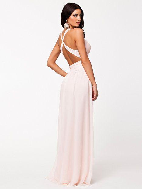 426a6d7105f2 Empire Maxi Dress - Nly Eve - Ljus Rosa - Festklänningar - Kläder - Kvinna -