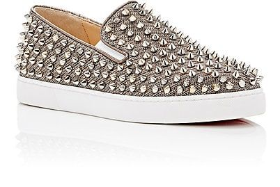 00dfa1fe0e8 Christian Louboutin Women's Roller-Boat Slip-On Sneakers | shoes ...