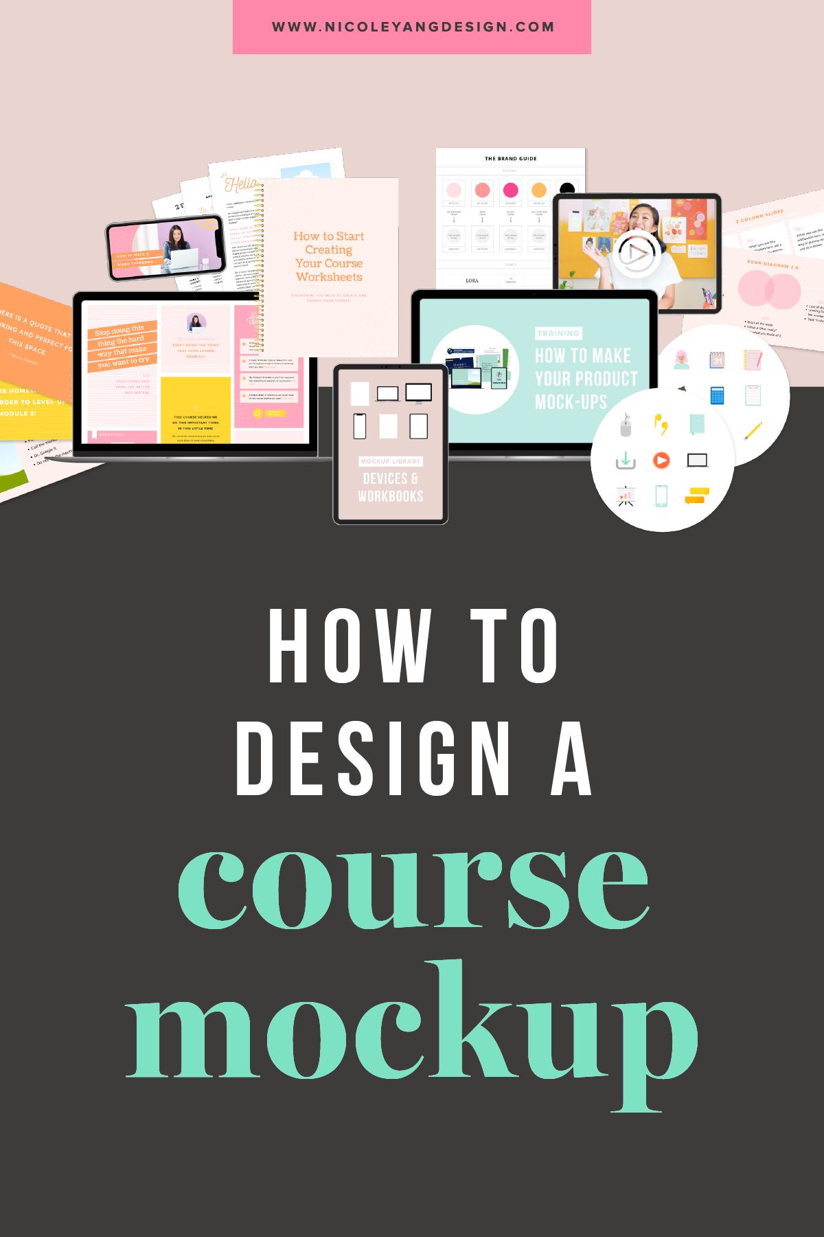 Course mockup