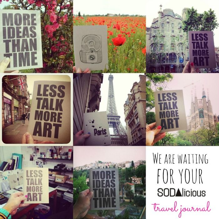 SODAlicious journals travel around the world! Join us ♥ :D