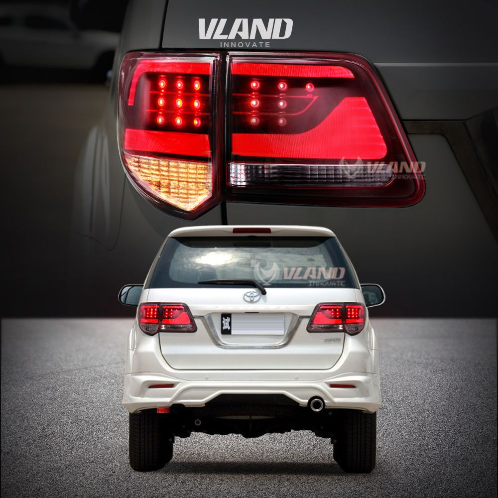 Old Upgraded New Tail Lamp For 2012 2015 Fortuner Tail Lights Vland Toyotafortunertaillights Toyotafortunertaillight Toy Tail Light Led Tail Lights Lights