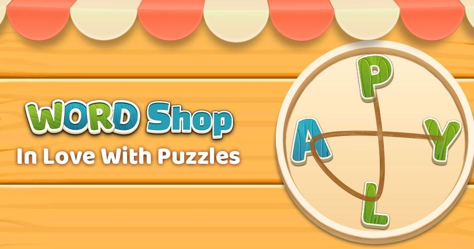 Word Shop brain game puzzles - free app download | Free