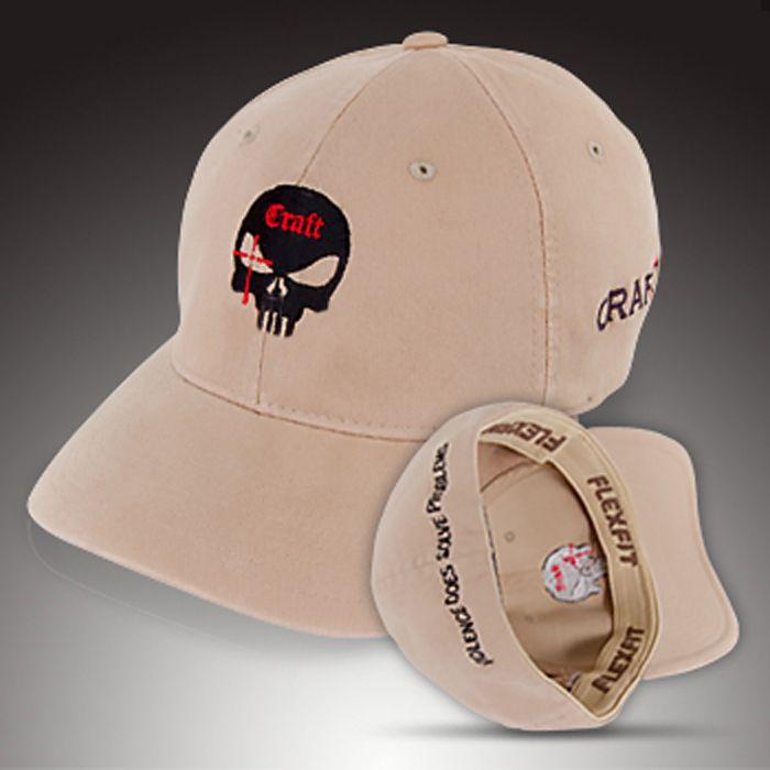 Official Craft International Chris Kyle baseball cap / hat -- khaki