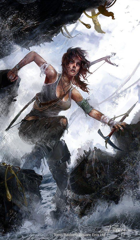 Rise of the Tomb Raider Concept Art + Camilla Luddington