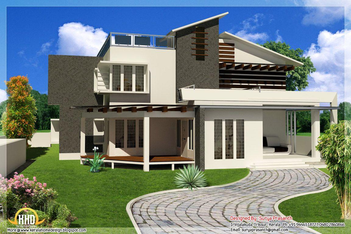 New Contemporary Mix Modern Home Designs Beautiful Modern Homes Contemporary House Design Modern Contemporary House Plans