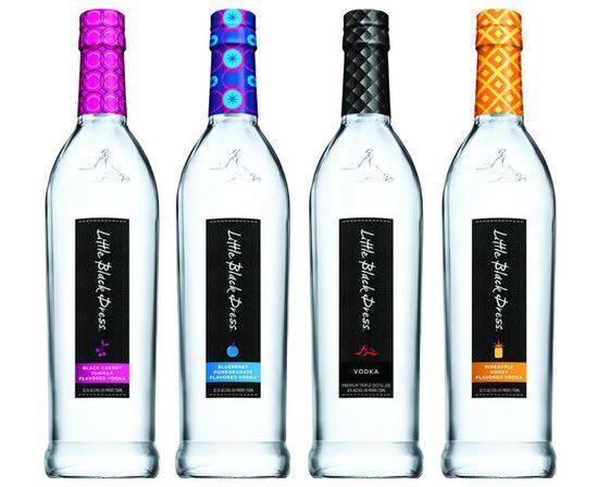 Little Black Dress Vodka 4 Flavors Classic Pineapple
