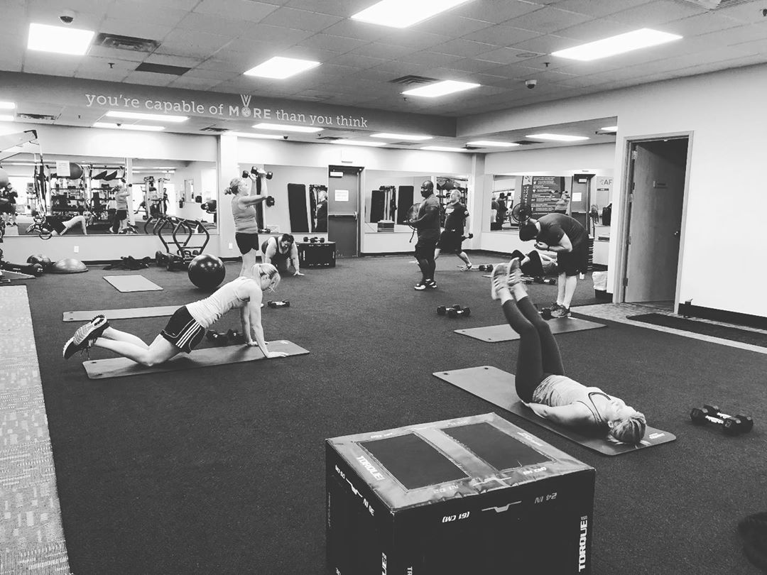 5pm group sweat session! 💪 if you haven't gotten your workout in today you can still make it out for...
