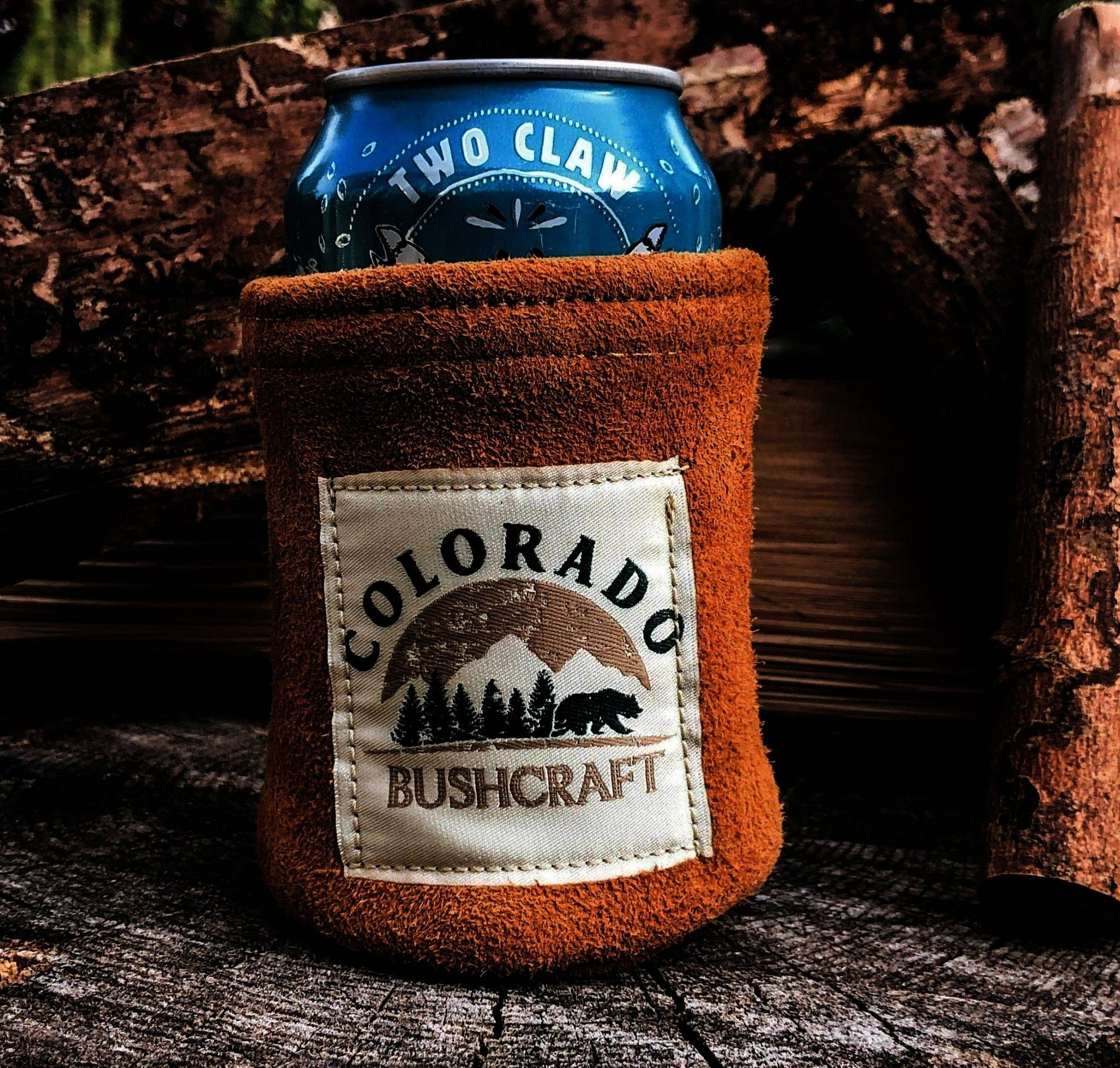 Cooler Coozie Cozy Wool Insulated Tobacco Bushcraft Deerskin Can Cosy Cooler Coozie Cozy Wool Insulated Tobacco Bushcraft Deerskin Can Cosy Cooler Coozie Cozy Wool Insula...