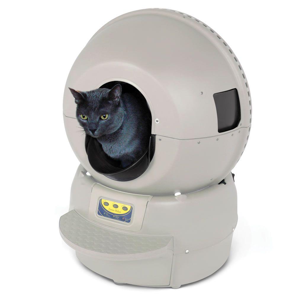 The Best Automatic Cat Litter Box Hammacher Schlemmer Litter Robot Automatic Cat Litter Cleaning Litter Box