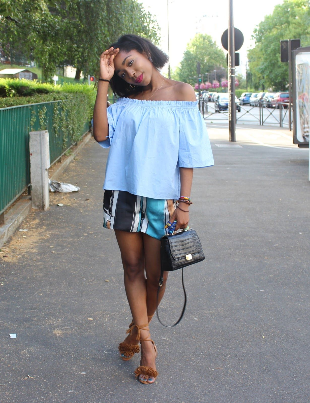 Elsy and The Blog: Off-The-Shoulders Approved