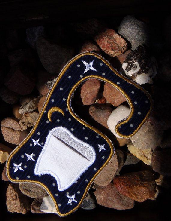 Tooth fairy door hanger in the hoop, machine embroidery ...