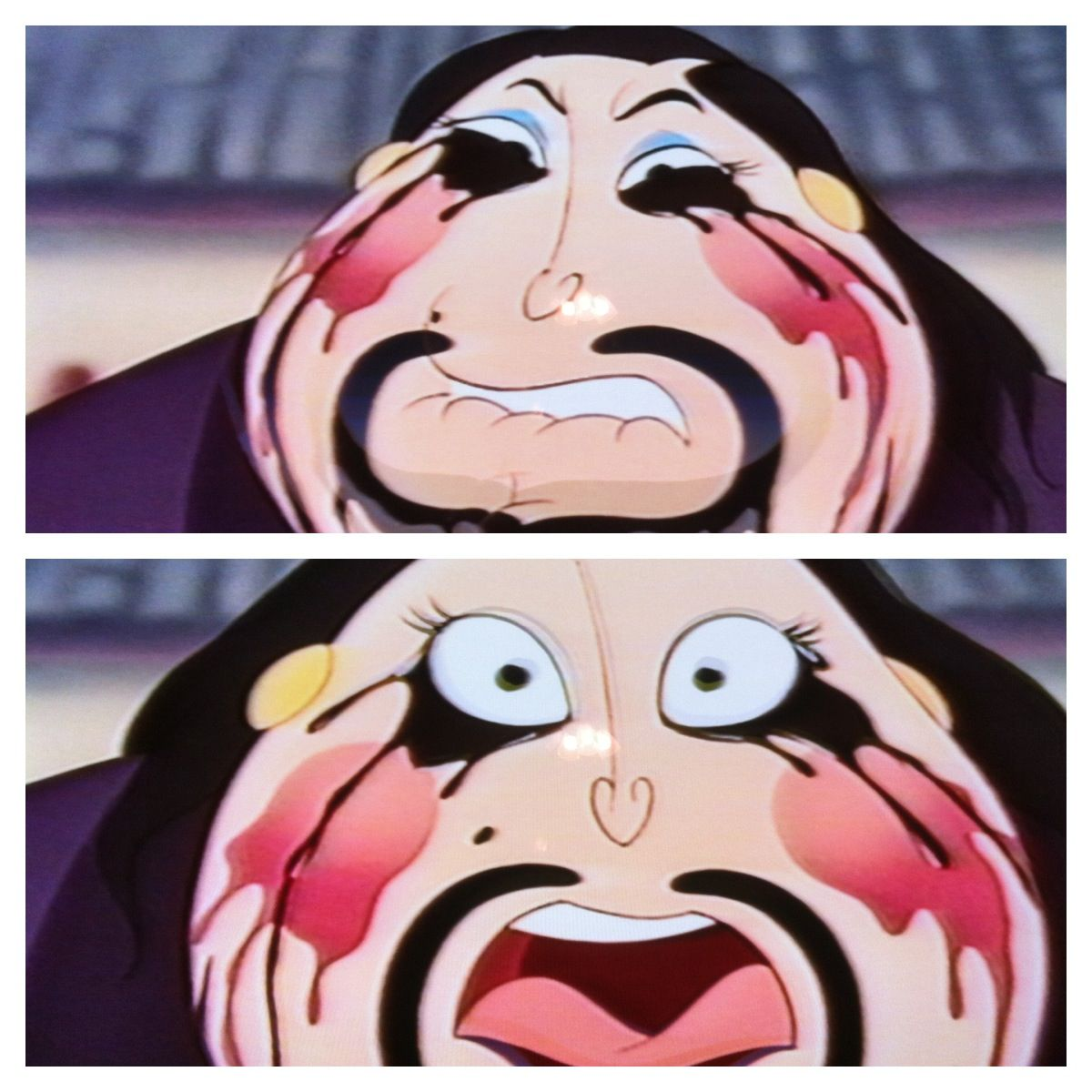 Too much makeup??? Haha;) the MatchMaker in Mulan disney