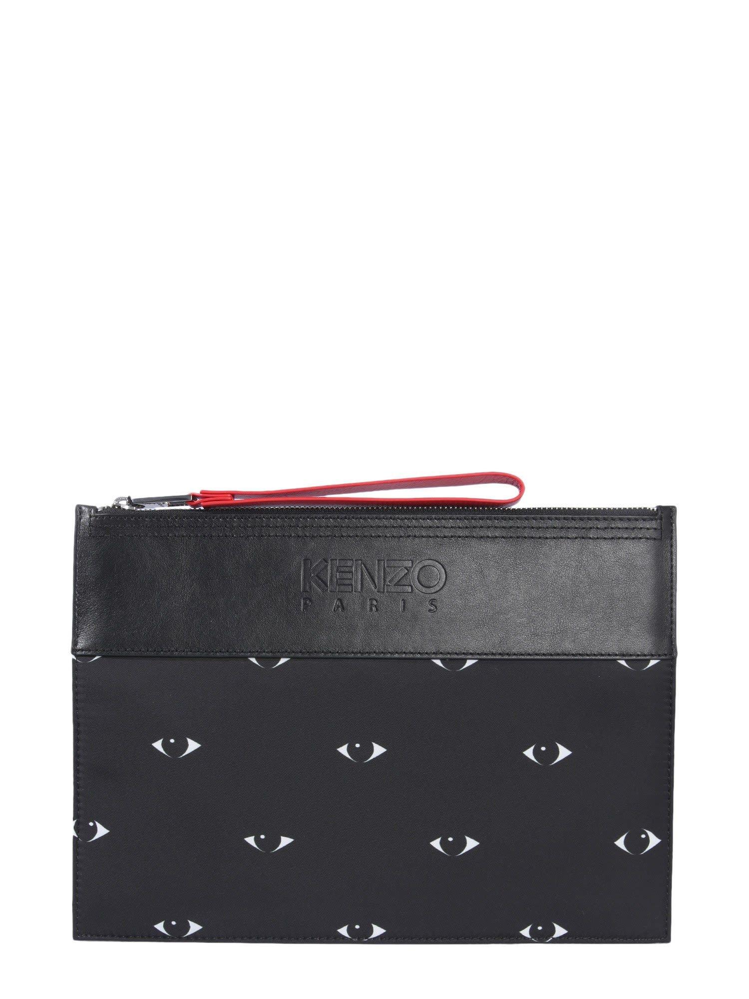 786f4cb2c6 KENZO MULTI EYE A4 CLUTCH. #kenzo #bags #clutch #polyester #hand ...