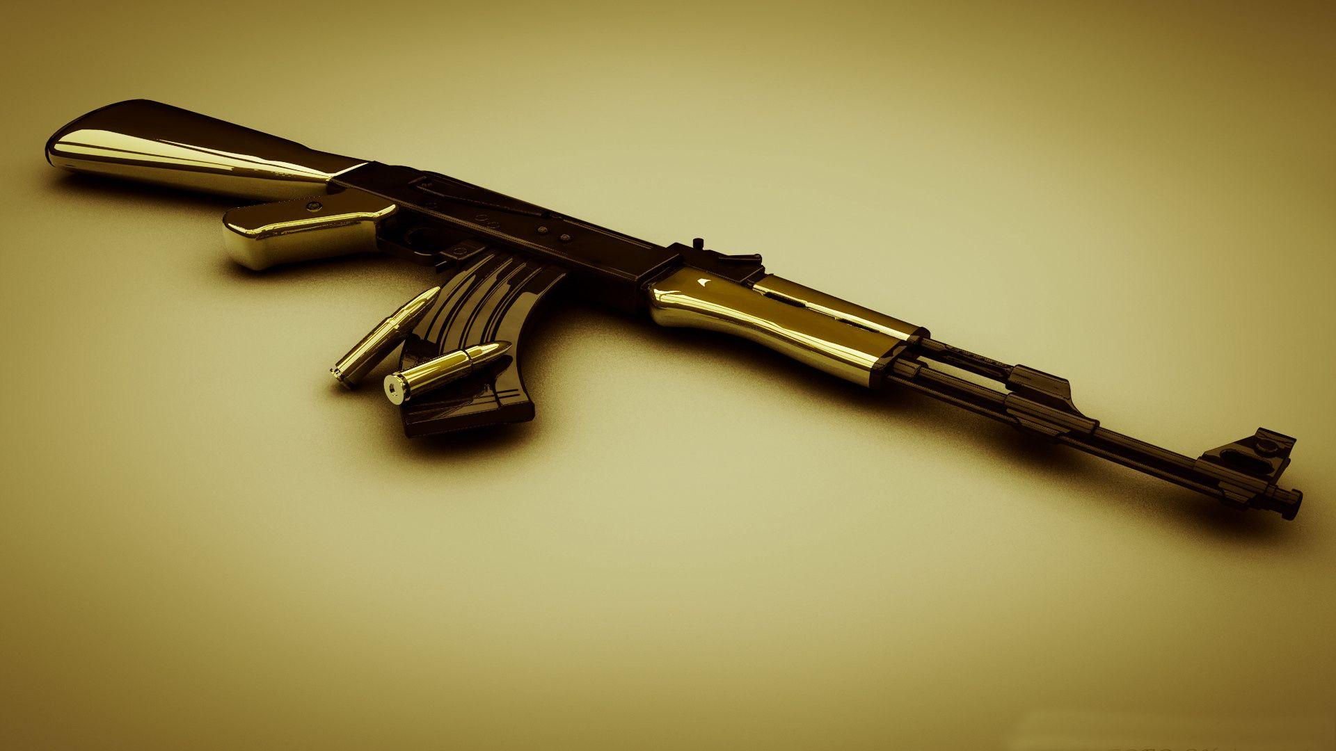 AK 47 HD Wallpaper | Art | Pinterest | AK 47 and Wallpaper
