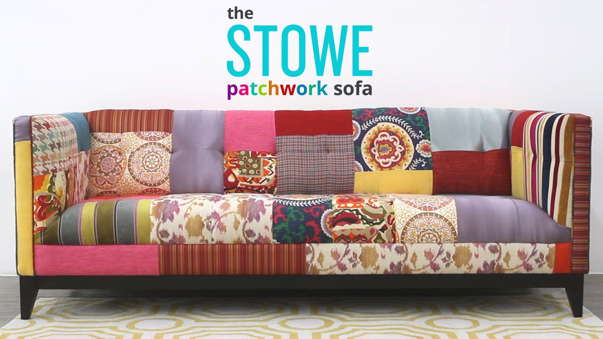 Stowe Patchwork Sofa By Joybird Furniture