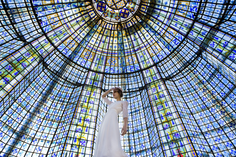 Elise Hameau - Robe Frida pour le Printemps Haussman