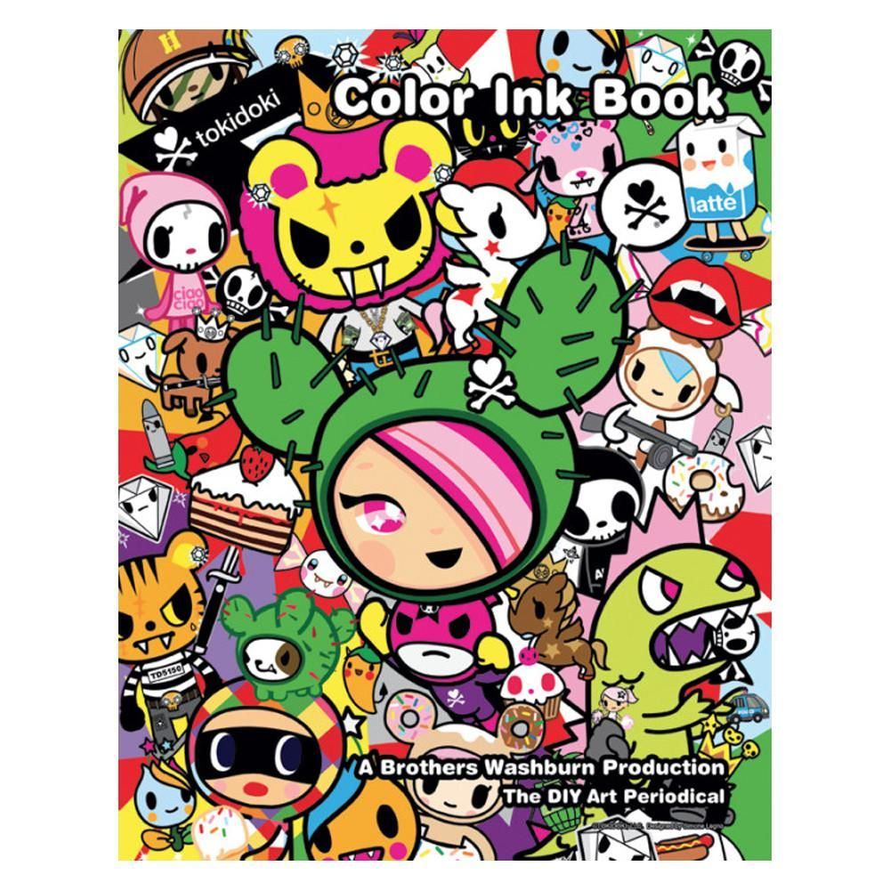 Color Ink Book Special Edition: Tokidoki | Products