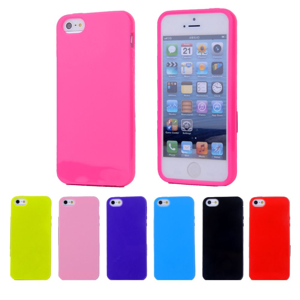 Silicone Jelly Soft Case Cover For