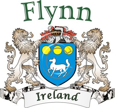Flynn coat of arms. Irish coat of arms for the surname Flynn from Ireland. View your coat of arms at http://www.theirishrose.com/#top_banner or view the Flynn Family History page at http://www.theirishrose.com/pages.php?pageid=43
