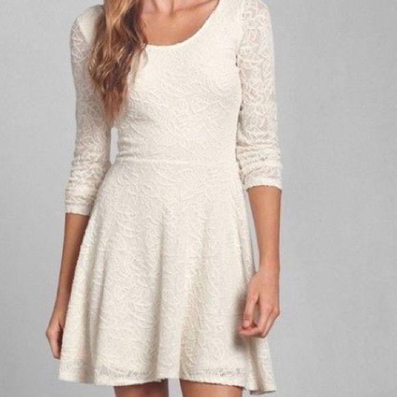 32abb46ec Abercrombie Lace Skater Dress NWOT Never worn Abercrombie & Fitch Dresses  Mini
