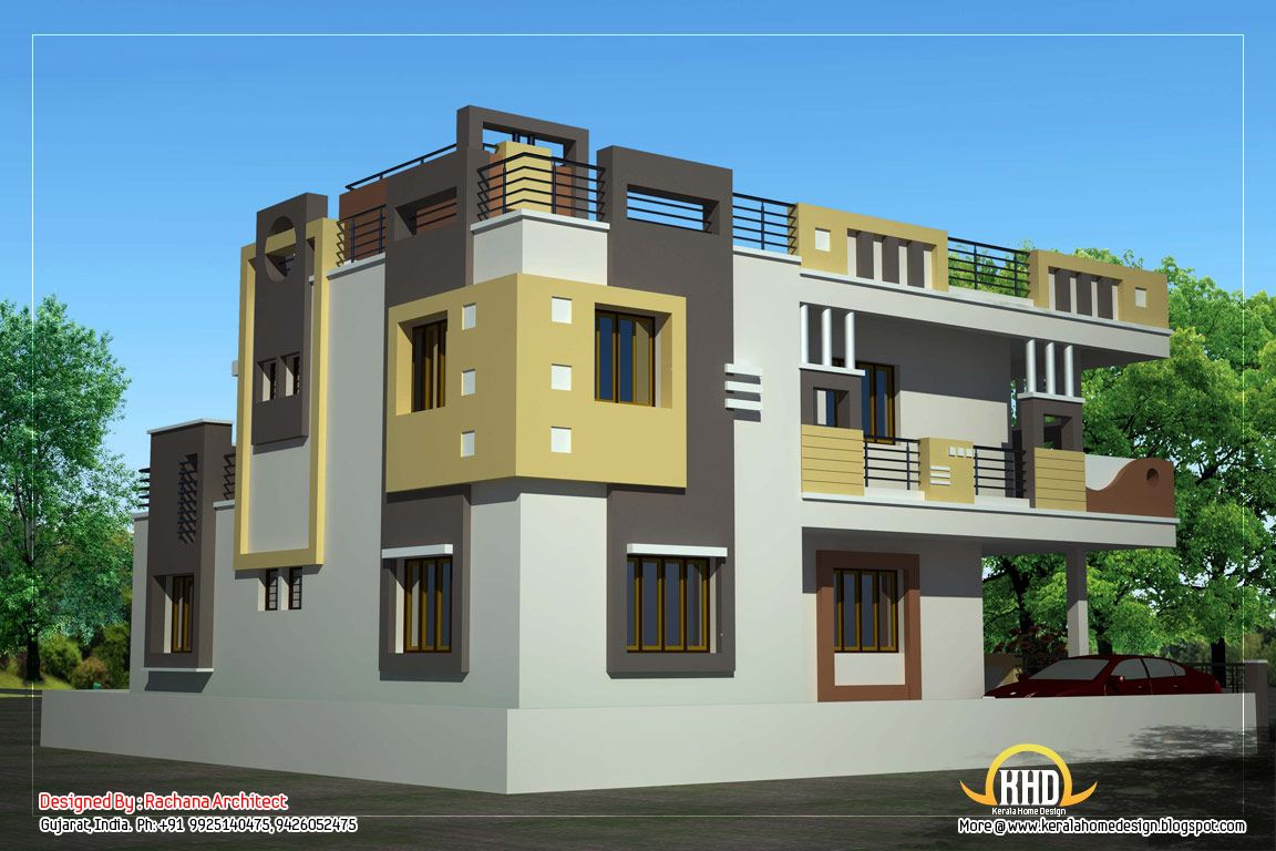 2 Floor Elevation Designs : Floor house elevation designs thefloors