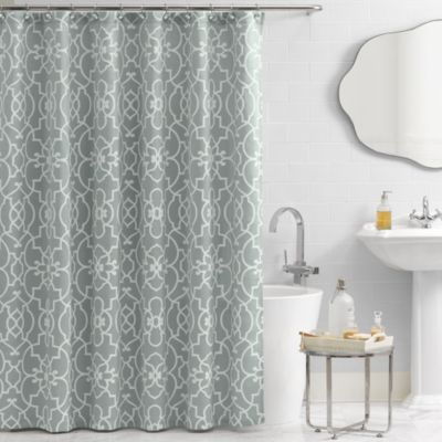 With Turquoise Accents Vue Reg Signature Iron Gates 72 Inch X 72 Inch Shower Curtain Bedba Long Shower Curtains 96 Inch Shower Curtain Shower Curtain Track