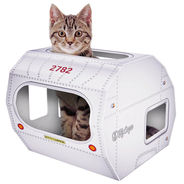 Top 10 Best Outdoor Cat Houses In 2021 Reviews Hqreview Cardboard Cat House Outdoor Cat House Outdoor Cats