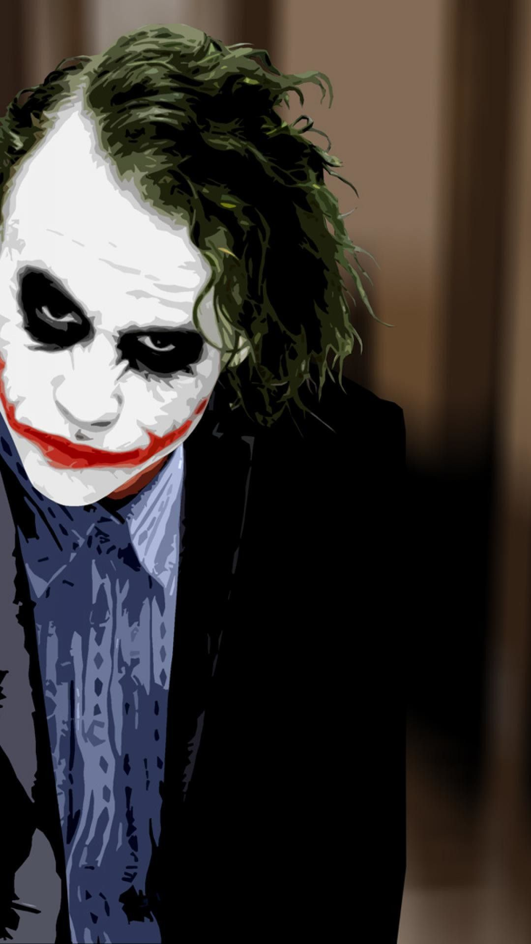 Pin On Heath Ledger Joker Wallpaper