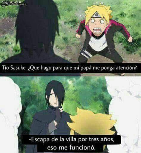Escapar Naruto Divertido Naruto Bonito Naruto Memes