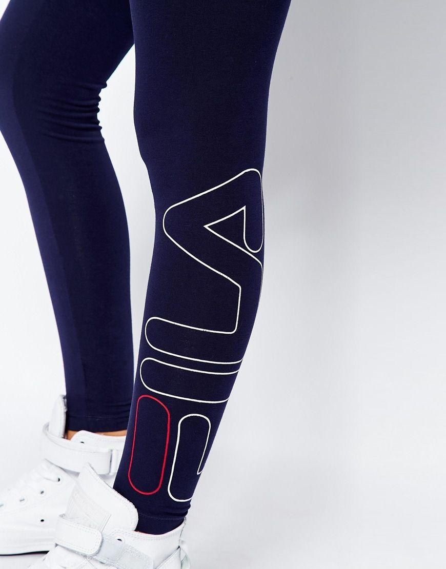 fila leggings. fila leggings with side logo g