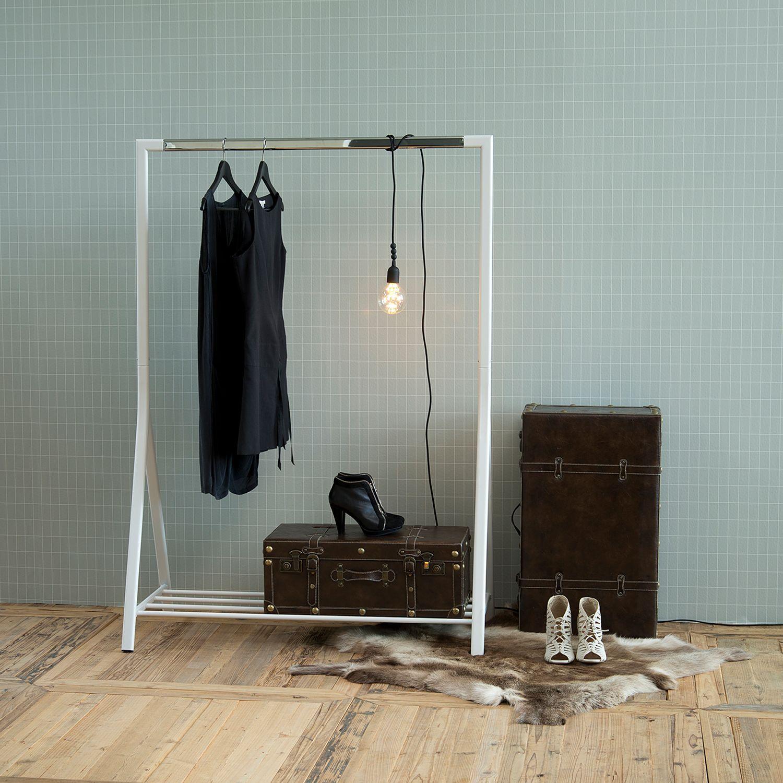 Garderobenstaender Lethbridge Garderobe Stander Kleideraufbewahrungssystem Kleiderstander Garderobe
