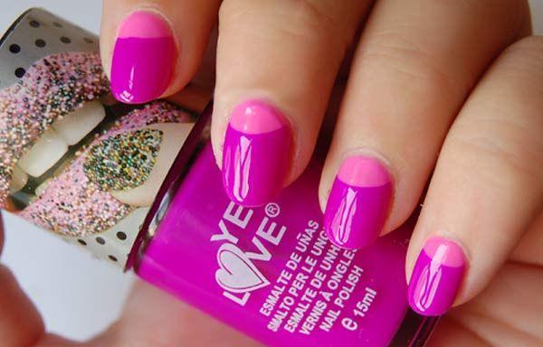 Unas Decoradas Colores Neon Unas Decoradas Pinterest Nails Y