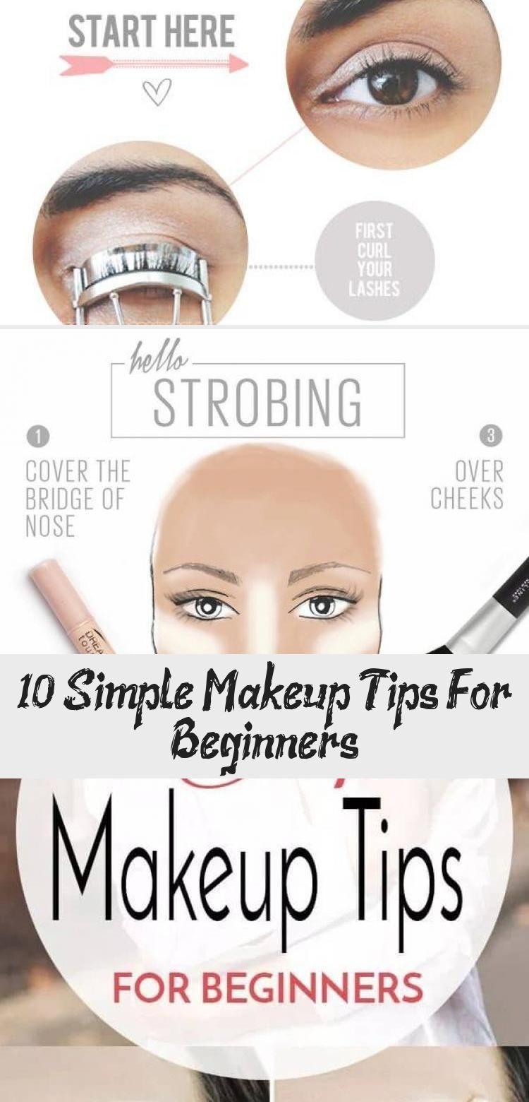 11 Simple Makeup Tips For Beginners - Make-Up#beginners #makeup