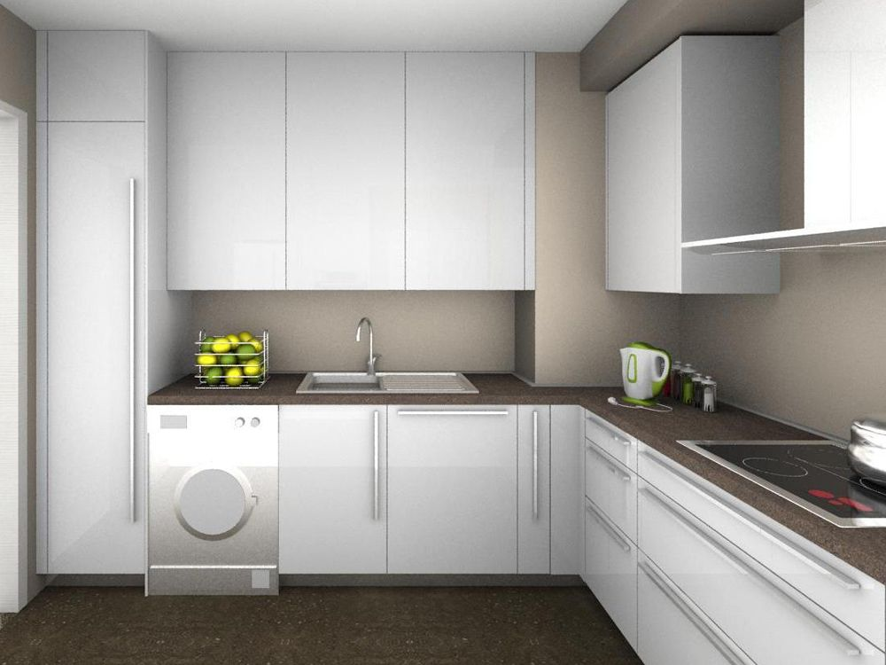 Buscar muebles de cocina affordable moderna y amplia with - Cocinas en ele ...