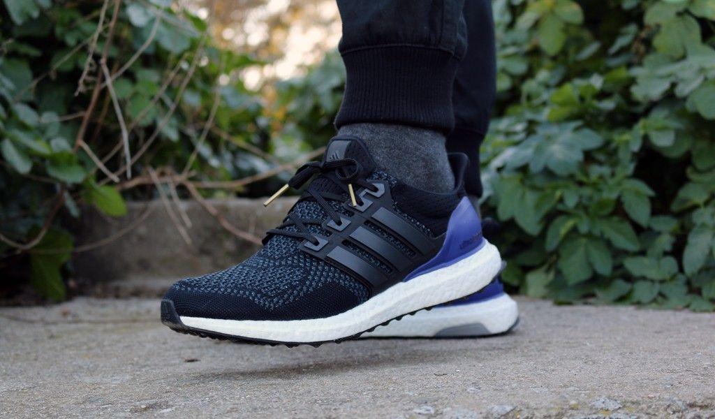 adidas ultra boost black blue
