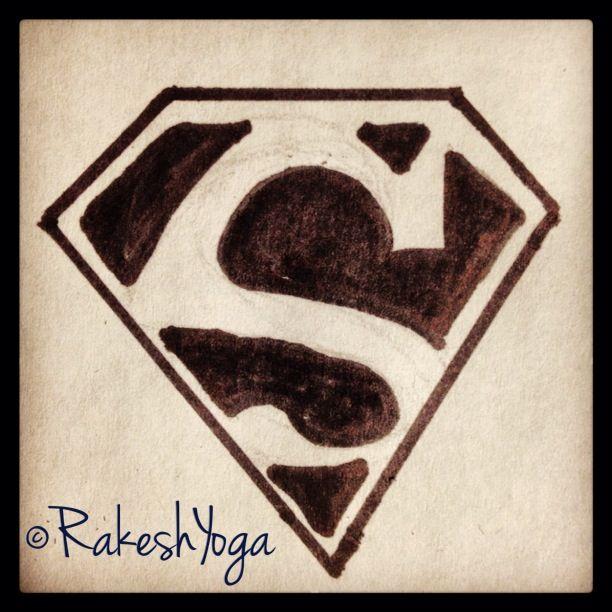 Kryptonian Symbol For Hope Man Of Steel My Sketchs Pinterest