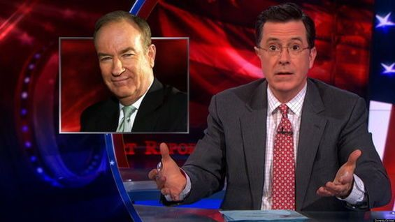 Watch The Box Entertainment News - Newswire: Stephen Colbert's auction of microwave he stole from Bill O'Reilly doing better than O'Reilly's...