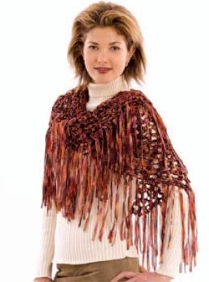 Image of Crochet Bronze Beauty Shawl | Häkeln: Stola, Tuch / Crochet ...