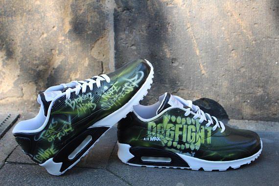 low priced 631d6 d9ac7 Coutume peint Nike Air Max 90 Votre idée individuelle Art