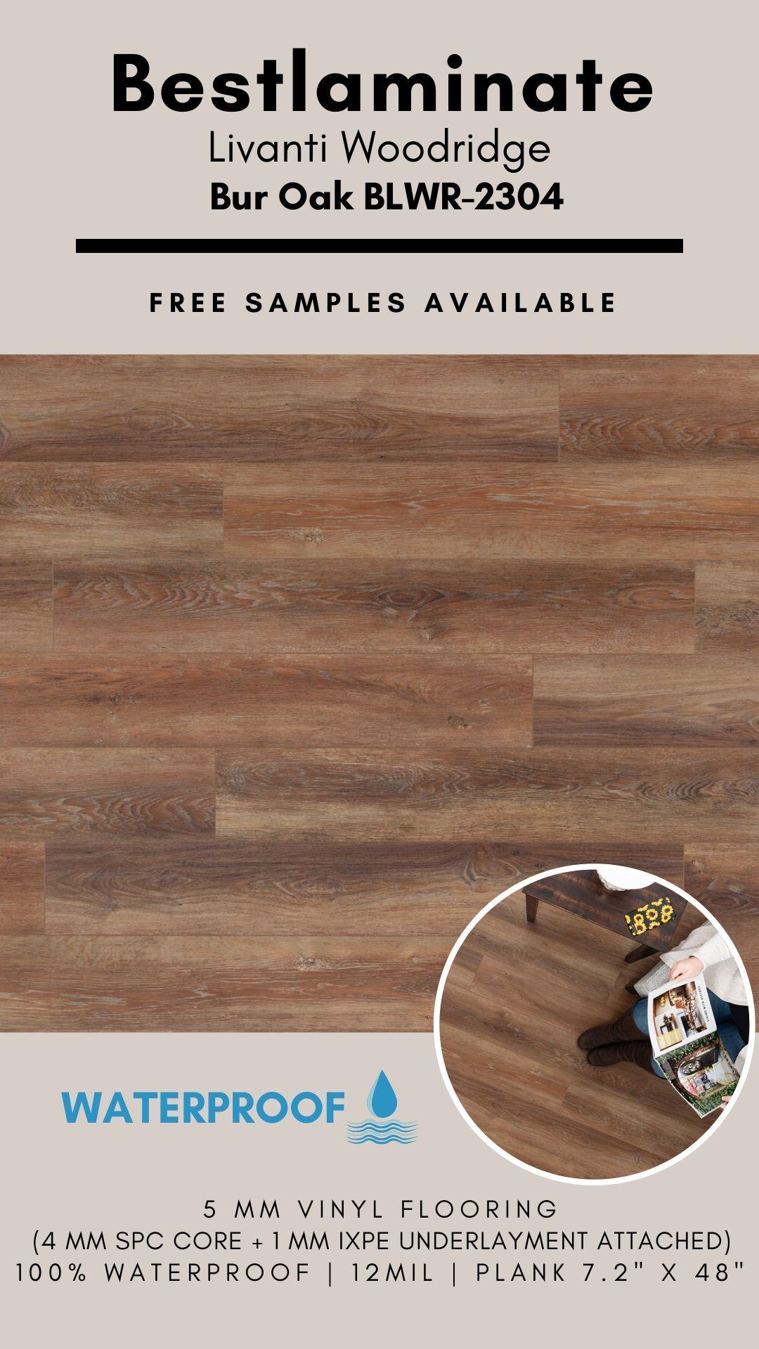 Bestlaminate Livanti Woodridge Bur Oak Blwr 2304 Luxury Spc Vinyl Flooring In 2020 Vinyl Flooring Vinyl Plank Flooring Woodridge