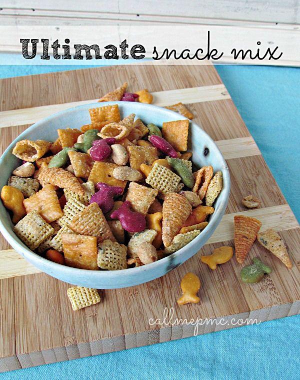 Ultimate Snack Mix www.callmepmc.com #callmepmc 600