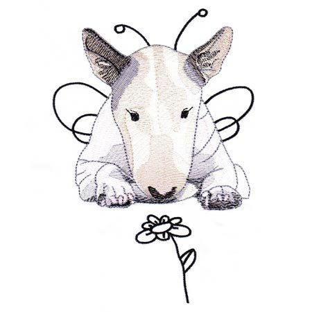 Realistic Bull Terrier 1 5x7 Embroidery Delight In 2020 Bull Terrier Art Bull Terrier English Bull Terriers