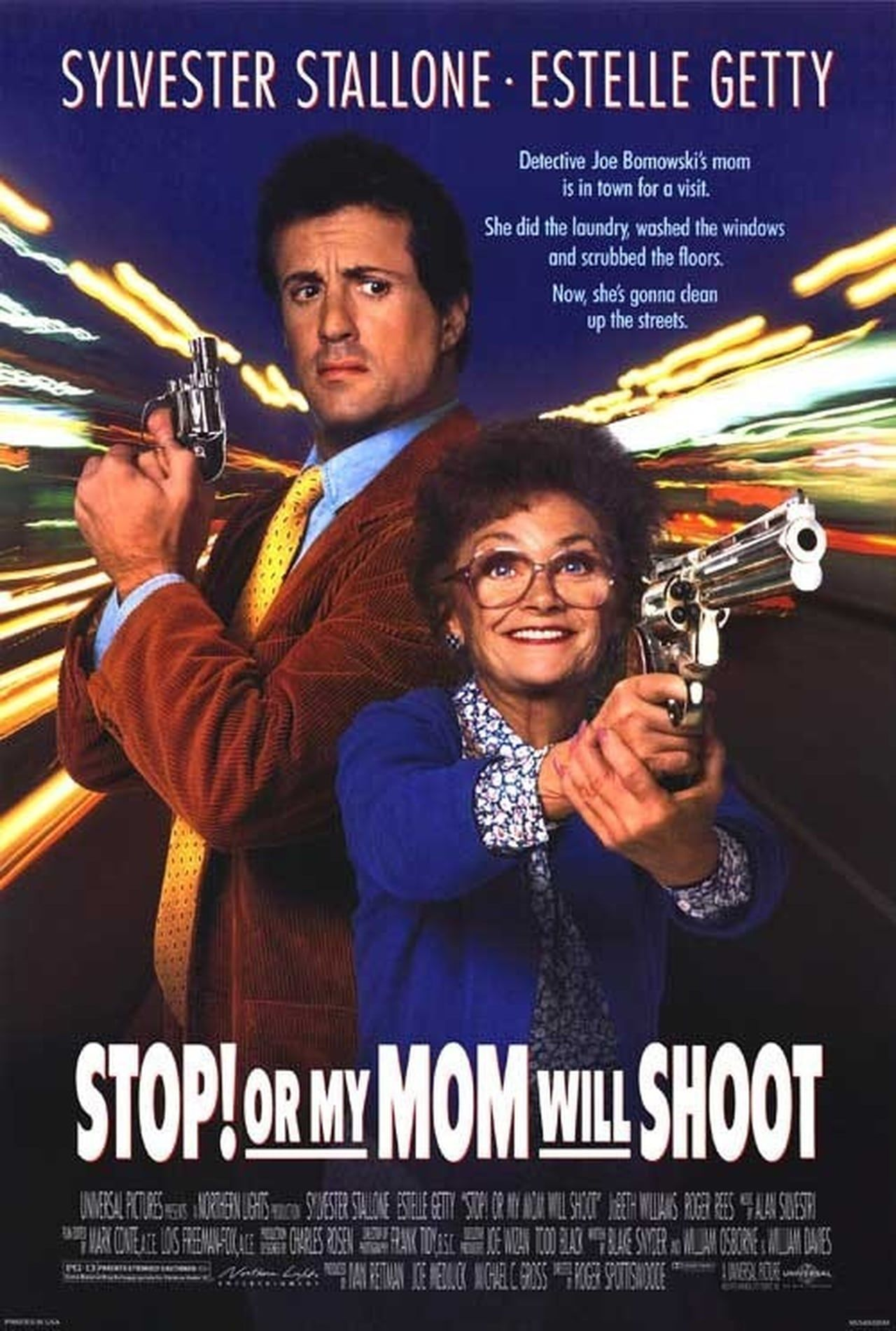 Stop Or My Mom Will Shoot 1992 A Tough Detective S Mother