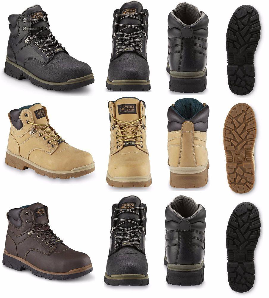 Work Boot Oil Slip resistant Steel Toe
