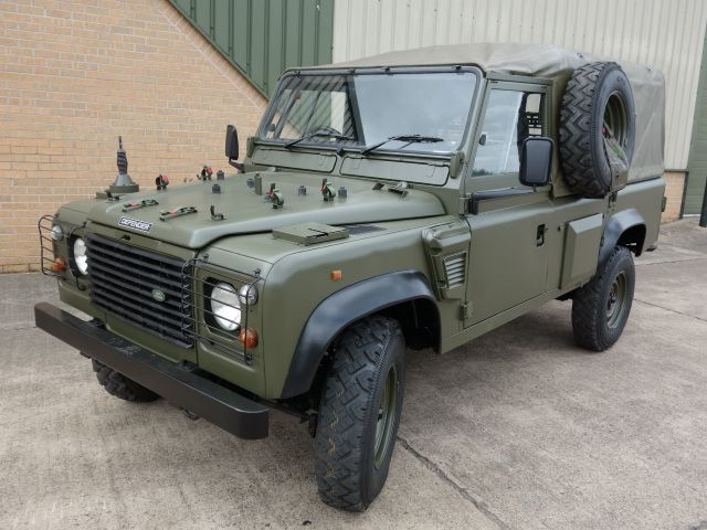 Land Rover 110 Defender Wolf Soft Top Remus Used Landrovers