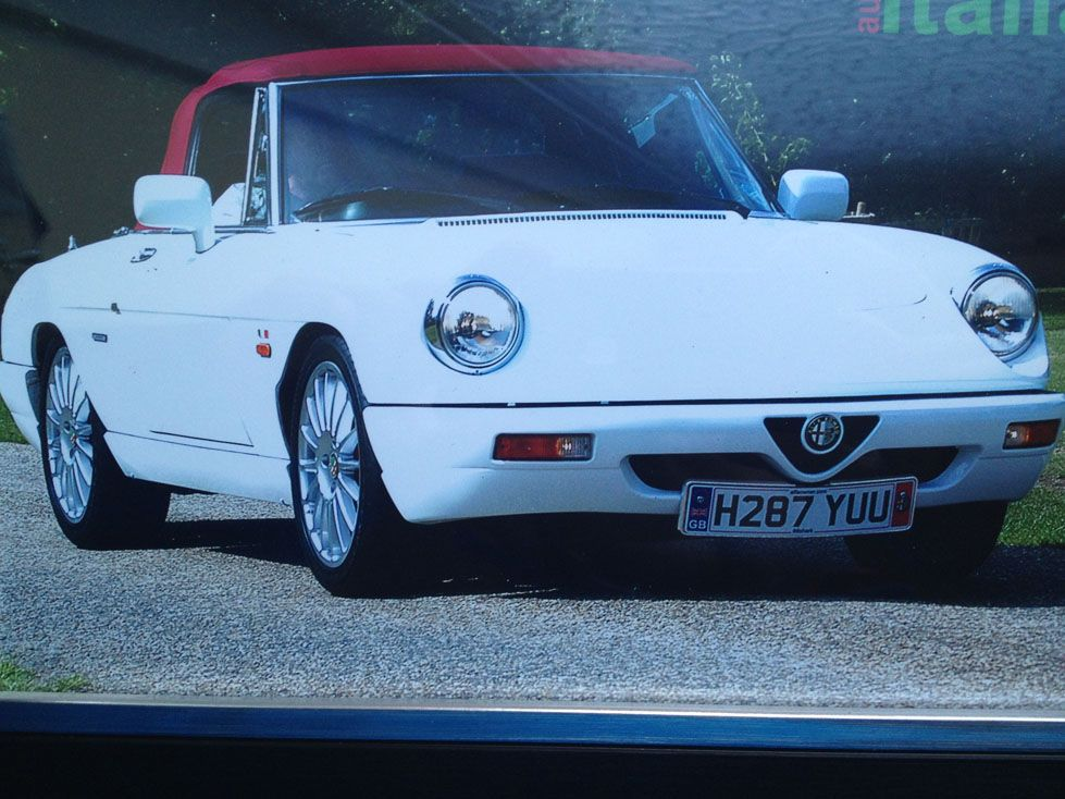 Pin On Alfa Romeo Spiders By Alfaholics